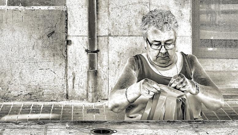 Anciana Senora Gracia 2011