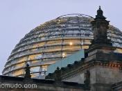 cupula del reichstag, obra de norman foster