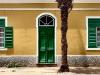 Fachada de casa en Mindelo. Cabo Verde