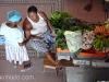 Vendedora hortalizas en Mindelo. Isla de Sao Vicente.Cabo Verde