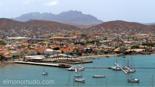 Bahía de Mindelo. Cabo Verde