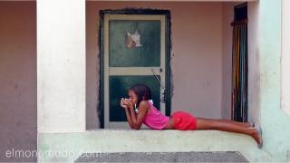 Muchacha. Cabo Verde