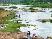 El rio como lavadero general