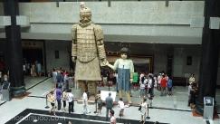 Museo guerreros terracota,Xian