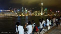 Skyline night,Hong Kong