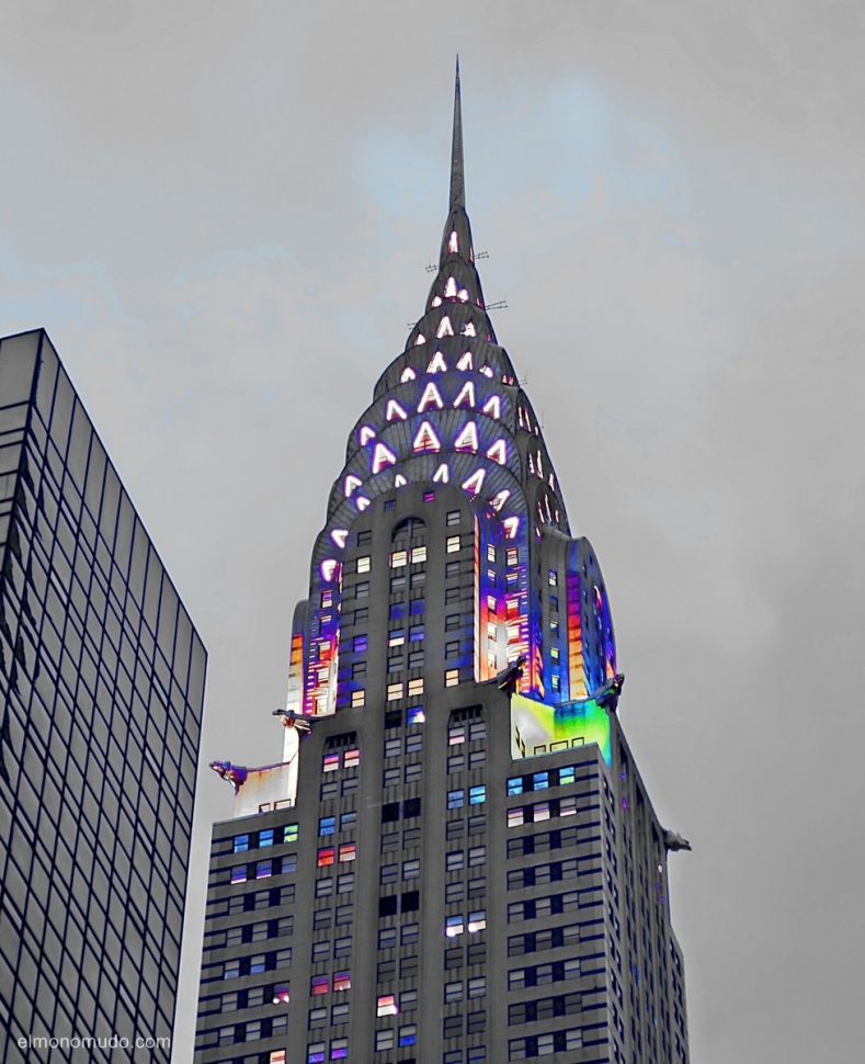 The Chrysler Building. New York City.