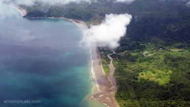 Colombia.El Chocó.Vista aerea.