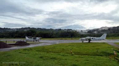 Colombia.El Chocó.Aeropuerto Jose Celestino Mutis. Alias: sal si puedes.