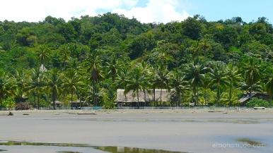 Colombia.El Chocó.El Valle. Playa Almejal. Hotel