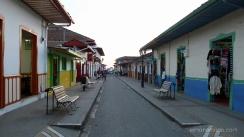 Colombia.Salento un pueblo tranquilo