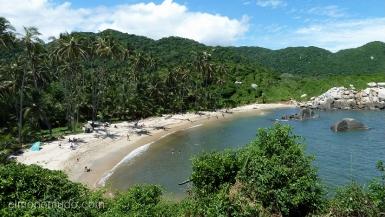 cabo san juan de guia. parque nacional tayrona. colombia