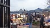Venta pescado Puente Galata, Estambul