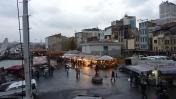 Restaurantes pescado Puente Galata, Estambul