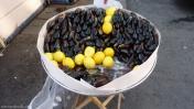 Mejillones en Estambul
