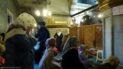 Mujeres rezando Yeni Camii Istanbul
