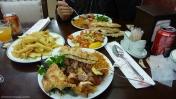 Tipica cena en Estambul