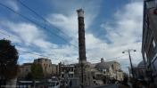 Columna quemada Estambul