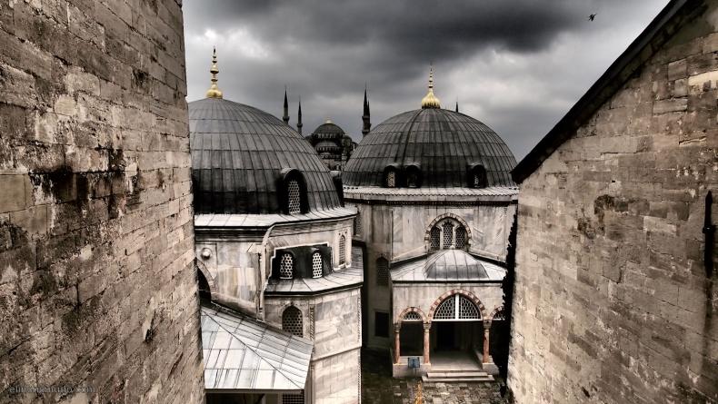 Mausoleo Hagia Sofia y Mezquita Azul 1600x902