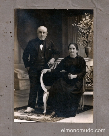 foto antigua aniversario de boda