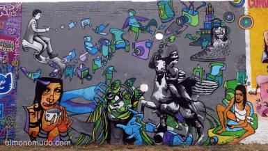 graffiti,street art.passatge de la marina.poblenou.barcelona