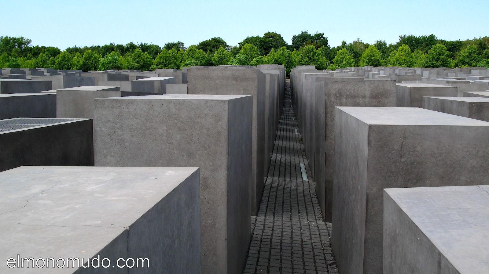 Monumento al holocausto berlin - Losas de hormigon para jardines ...