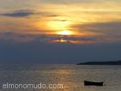 Atardecer en Lombok. Indonesia