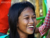 Joven sonriente. Java. Indonesia.