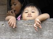 Niño curioso. Sulawesi.Indonesia
