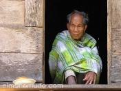 Anciano. Bali. Indonesia.