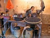 Vendedora de café. Lombok. Indonesia.