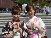 Girls, Kiyomizu, Kyoto