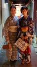 Japonesas con Kimono