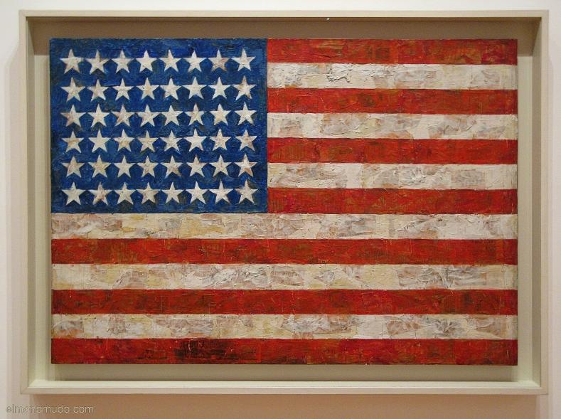 Bandera Jasper Jonhs 2008