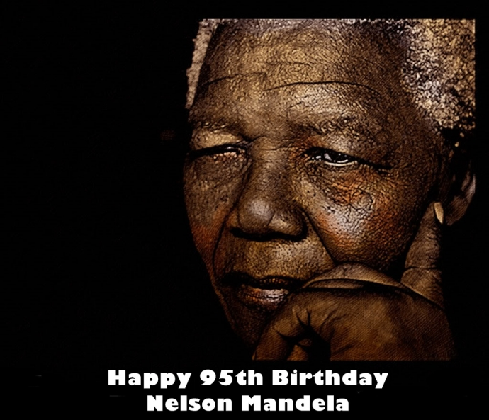 Nelson Mandela  Happy 95th Birthday