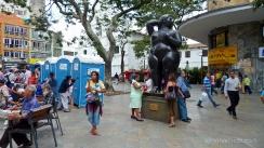 calles de medellin. colombia