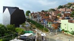 Parque Biblioteca España en el barrio Santo Domingo. Medellin.Colombia
