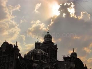 Mexico-Zocalo-catedral