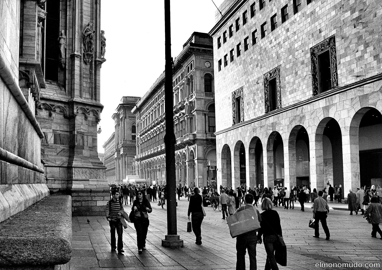Milan en blanco y negro - Blanco y negro ...
