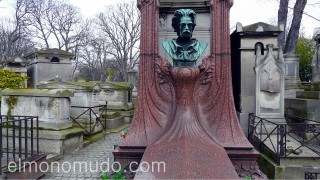 Tumba de Émile Zola.