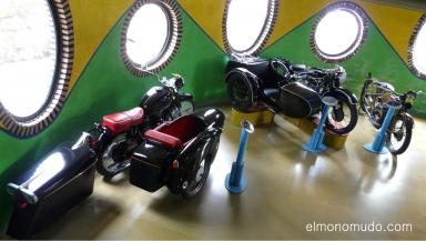 museo de la moto y el coche clasico.hervas.caceres.