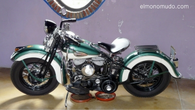 museo de la moto y el coche clasico.hervas.caceres.harley davidson.