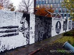 graffitis en muro de berlin año 2010