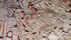 relieve en piedra.museo etnológico de berlín