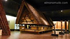 antiguas cabañas oceanía.museo etnológico de berlín