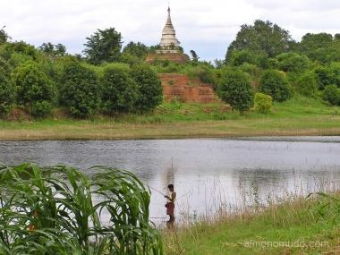 templos en bagan. myanmar. birmania