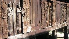 antigua talla en madera.myanmar
