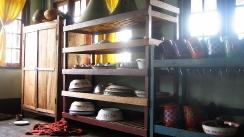 sol y sombras en cocina, myanmar