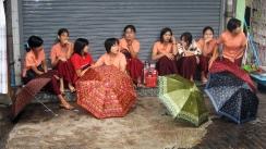 empleadas almacen, myanmar