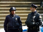 the police. new york