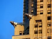 gargolas. chrysler building. new york